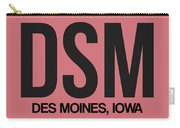 Dsm Des Moines Luggage Tag I Carry-all Pouch