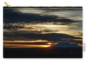 Dual Sunstars At Nipple Bench Sunrise Carry-all Pouch