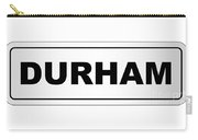 Durham City Nameplate Carry-all Pouch