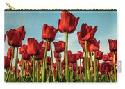 Dutch Red Tulip Field. Carry-all Pouch
