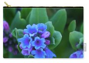 Dwarf Bluebell Detail Carry-all Pouch