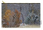Early Winter On The Western Edge Carry-all Pouch