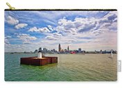 East Pierhead Lighthouse View Of Cleveland Carry-all Pouch