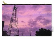East Texas Oil Derrick Carry-all Pouch
