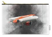 Easyjet Airbus A319-111 Painting Carry-all Pouch