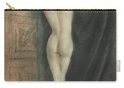Edouard Chimot Nude In Boudoir  Carry-all Pouch