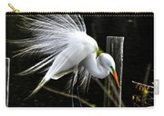 Egret Pride Carry-all Pouch