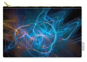 Electric Universe Blue Carry-all Pouch by Don Northup