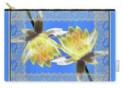 Electric Yellow Water Lilies Carry-all Pouch