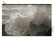 Elegant Coastal Splash Bermuda Carry-all Pouch