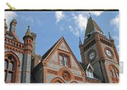 Elegant In Brick And Grey Carry-all Pouch