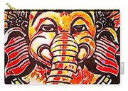 Elephant Face Carry-all Pouch