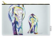 Elephants Side By Side Carry-all Pouch