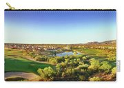 Elevated View Of Golf Course, Sun City Carry-all Pouch