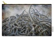 Elk Antlers Digital Art Carry-all Pouch