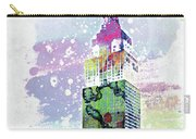Empire State Building Colorful Watercolor Carry-all Pouch