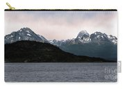 View Over Ensenada Bay Of High Peaks In Tierra Del Fuego National Park, Ushuaia, Argentina Carry-all Pouch