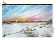Ephemeral Sunset Carry-all Pouch