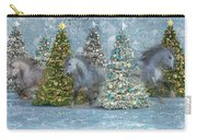 Equine Holiday Spirits Carry-all Pouch