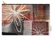 Espresso Flower 2- Art By Linda Woods Carry-all Pouch