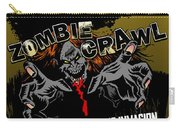 Eureka Springs Zombie Crawl 2018 Poster Carry-all Pouch