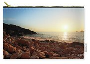 Evening Glow At Porth Nanven Carry-all Pouch