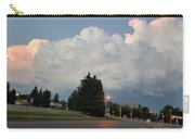 Evening Lightning Storm Illuminates The Sky Carry-all Pouch