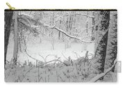 Evening Snow Carry-all Pouch