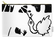 Evolution Of Flamingo Poster 14 Carry-all Pouch