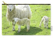 Ewe With Lambs Carry-all Pouch