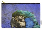 Blue Exotic Parrot- Pirates Of The Caribbean Carry-all Pouch