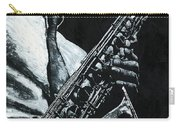 Expressive Sax Carry-all Pouch