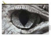Eye Of Alligator Carry-all Pouch