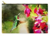 Eye On The Fuchsia Carry-all Pouch
