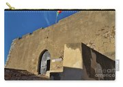 Facade Of The Medieval Castle Of Castro Marim Carry-all Pouch