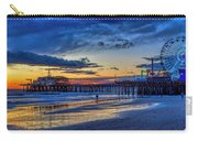 Fading To The Blue Hour - Ferris Wheel Carry-all Pouch