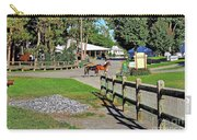 Fairgrounds In Rhinebeck New York Carry-all Pouch