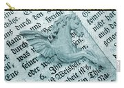 Fairytale Theme With Pegasus Horse Carry-all Pouch