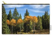 Fall Aspen Carry-all Pouch by Michael Chatt