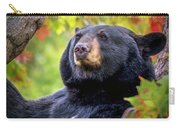 Fall Black Bear Carry-all Pouch
