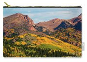 Fall Colors On The North Face Of Pikes Peak Carry-all Pouch