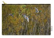 Fall Time Mallards Carry-all Pouch
