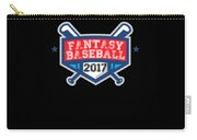 Fantasy Baseball Design 2017 Carry-all Pouch