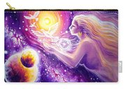 Fantasy Painting About The Flight Of A Dream In The Universe Carry-all Pouch
