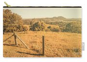 Farm Fields Of Eumundi, Sunshine Coast Carry-all Pouch