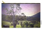 Farm Scene Carry-all Pouch by Alison Frank