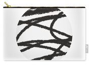 Fastball 2- Modern Art By Linda Woods Carry-all Pouch