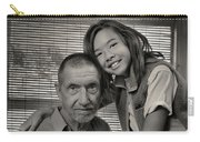 Father And Daughter Carry-all Pouch by Ron Cline