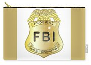 Fbi Badge Carry-all Pouch