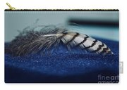 Feather Carry-all Pouch by Ann E Robson